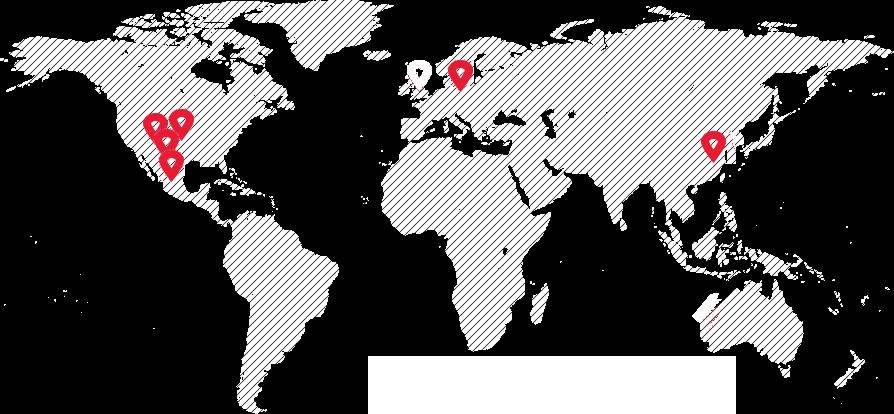 Oficinas en el mundo